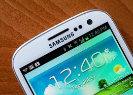 Samsung's Galaxy S III smartphone
