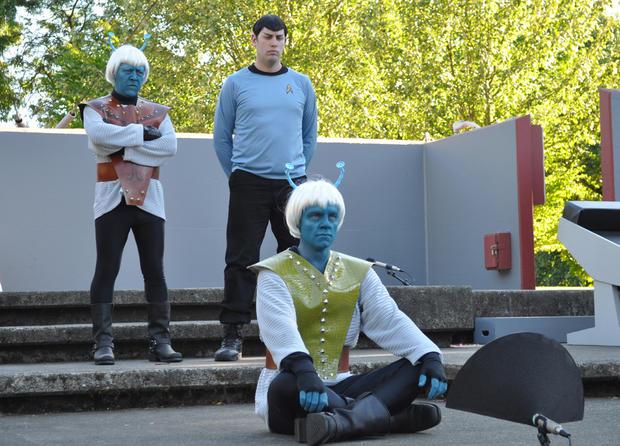 """""""Star Trek"""" on the summer stage"""