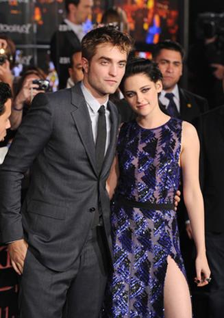 Robert Pattinson & Kristen Stewart