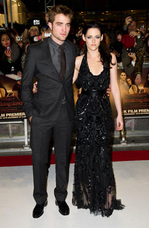 Robert Pattinson & Kristen Stewart
