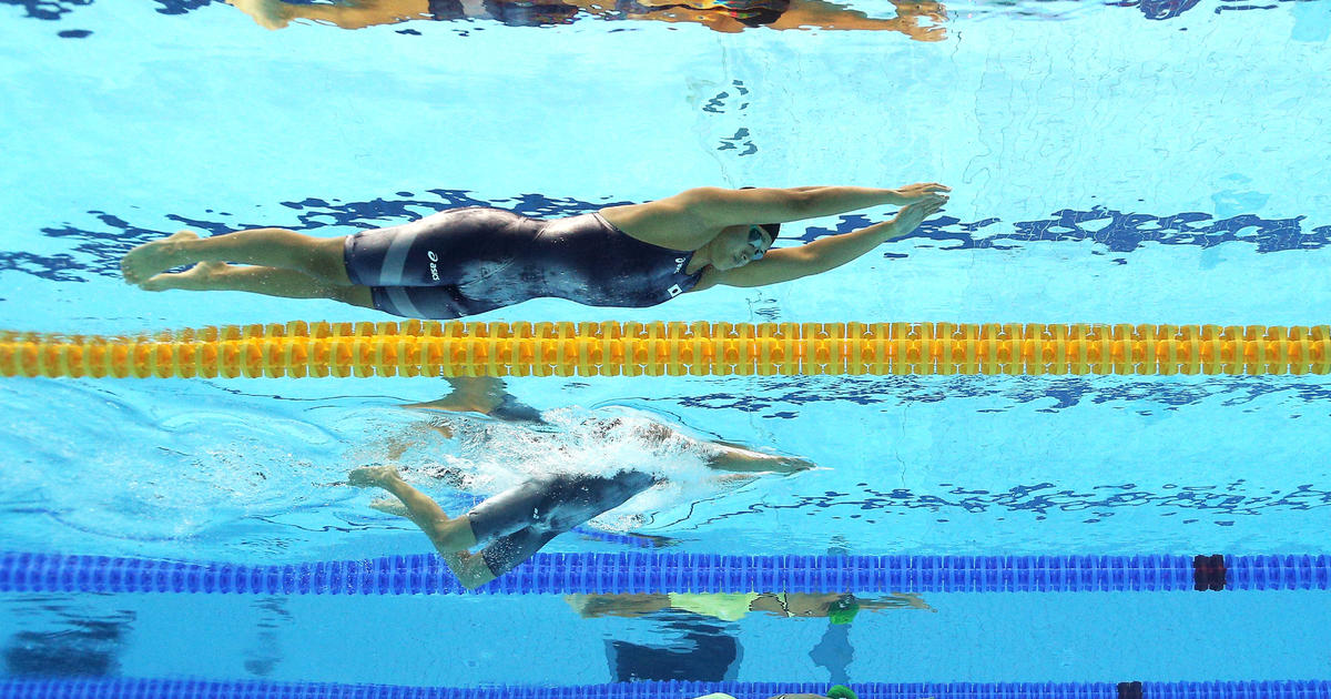 ... Olympic Swimming Breaststroke