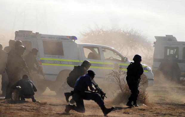 Lonmin Platinum Mine Strike