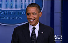 "Obama on calling for Romney's tax returns: ""Pretty standard stuff"""