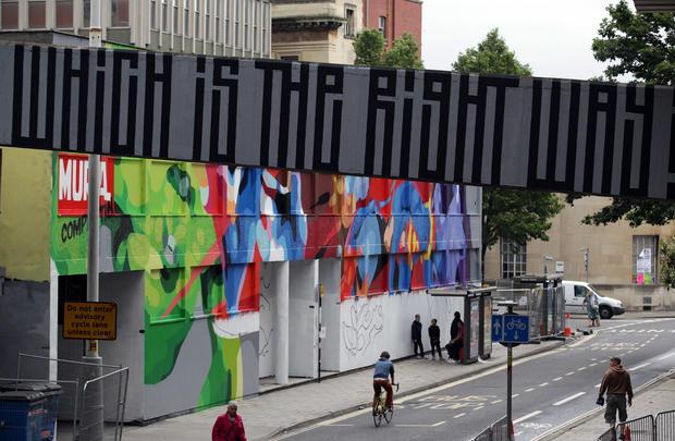 Europe's biggest street art festival