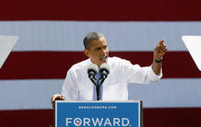 Obama campaign defends early big spending