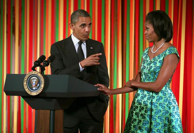 "Michelle Obama hosts Kids' ""State Dinner"""