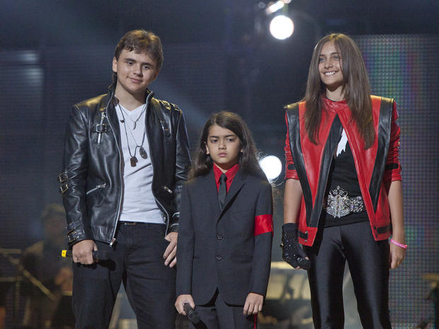"Oct. 8, 2011 file photo, from left, Prince Jackson, Prince Michael II ""Blanket""Jackson and Paris Jackson arrive on stage at the Michael Forever the Tribute Concert, at the Millennium Stadium in Cardiff, Wales. A judge is expected on Wednesday Aug. 22, 2012 to appoint Michael Jackson»??s nephew TJ Jackson to serve as co-guardian of the singer»??s three children, sharing duties with family matriarch Katherine Jackson."