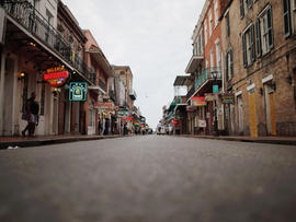 Bourbon Street, New Orleans, Isaac