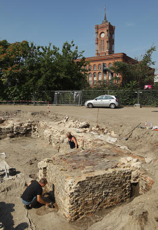 Berlin after 775 years: Archaeological excavations