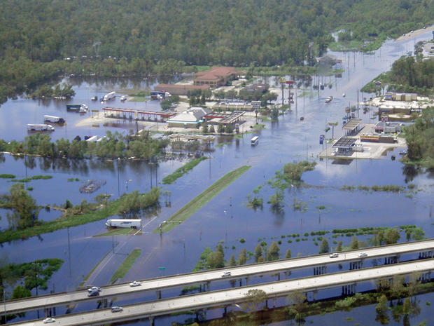 Flooding in LaPlace, La. Louisiana State.