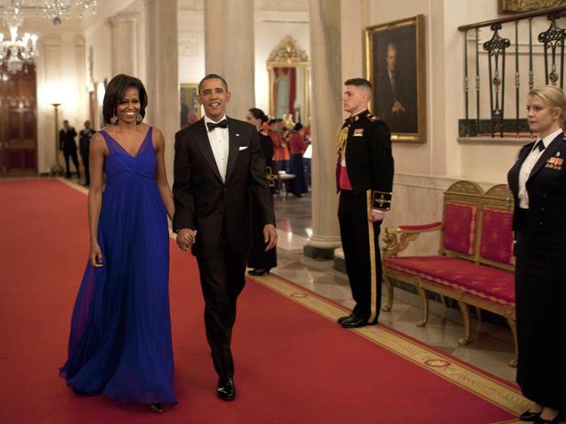 Mrs. Obama's best evening looks