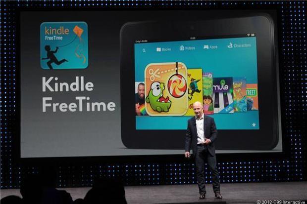 Amazon unveils new Kindle family