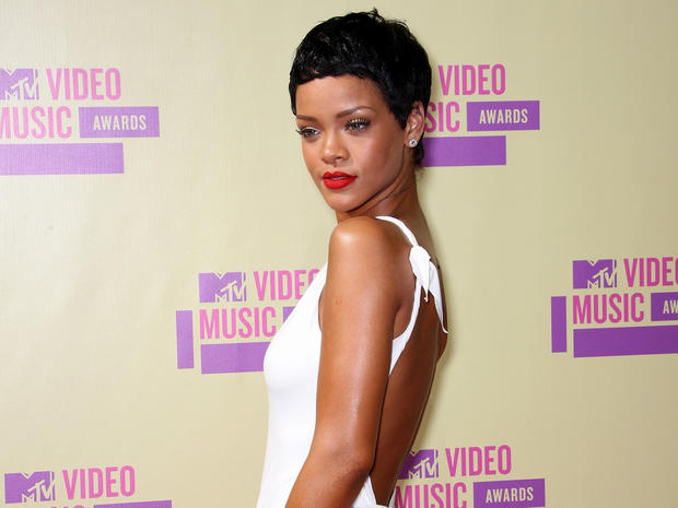 MTV Video Music Awards 2012 red carpet