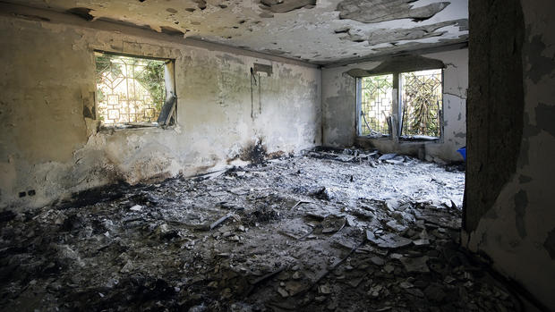 Inside the ruined U.S. Consulate in Libya