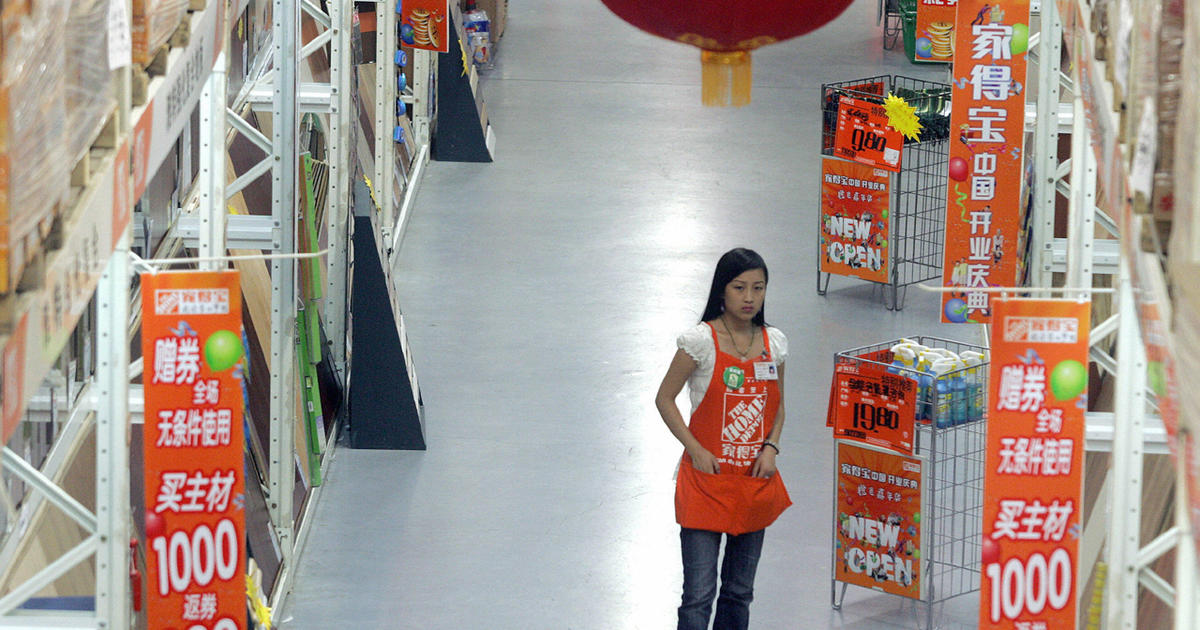Home Depot Shuttering Last Big Box Stores In China Cbs News