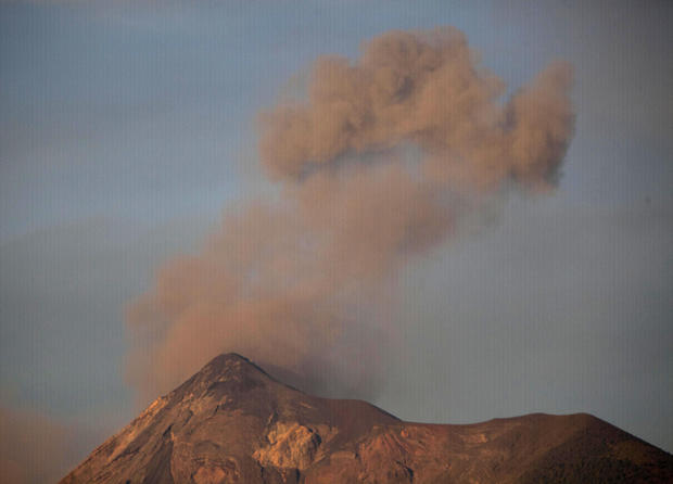Volcano erupts in Guatemala