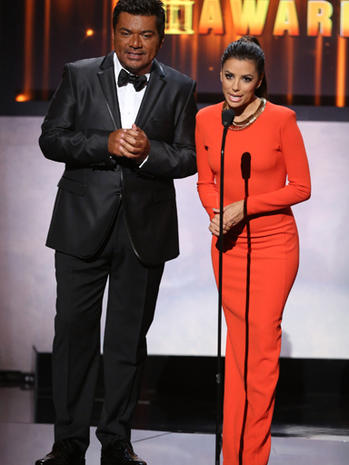 Eva Longoria's ALMA awards fashion