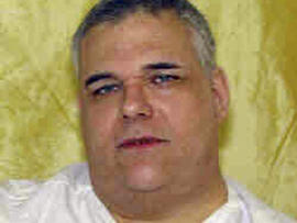This undated photo provided by the Ohio Dept. of Rehabilitation and Corrections shows death row inmate Ronald Post. Post, 53, scheduled to die Jan. 16, 2013, for the 1983 shooting death of hotel desk clerk, wants his upcoming execution delayed. At 480 pounds, Post says he»??s too heavy for the state»??s lethal injection process.