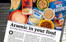 Are arsenic levels in rice dangerous?