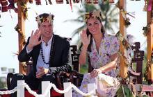 William and Kate in Solomon Islands, Tuvalu