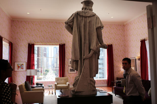 """Columbus discovered in """"Living Room"""""""