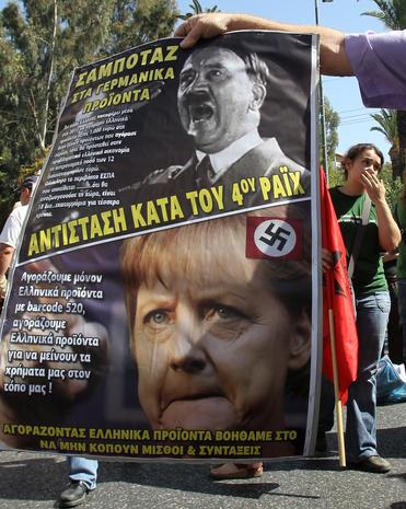 Violent protests in Greece