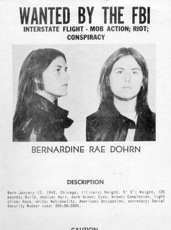 Women on FBI's most wanted list