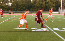 On the field with amputee soccer player Nico Calabria