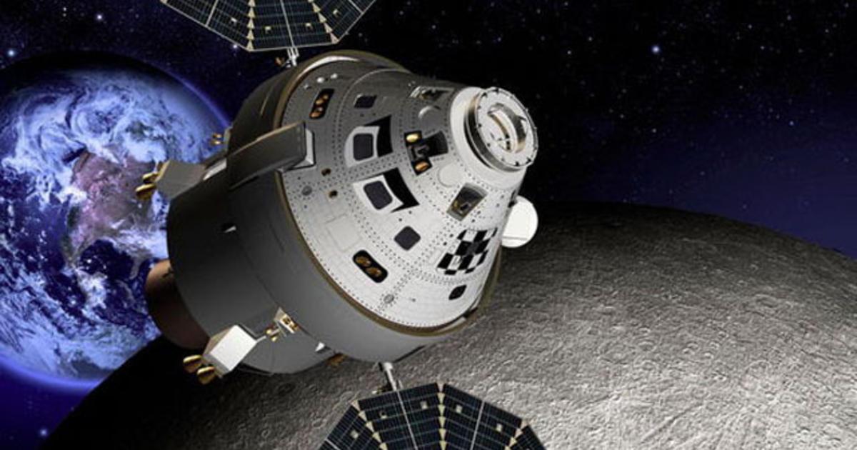 NASA considering deep-space station on moon - CBS News