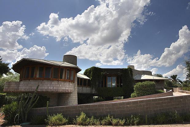 Frank Lloyd Wright house threatened