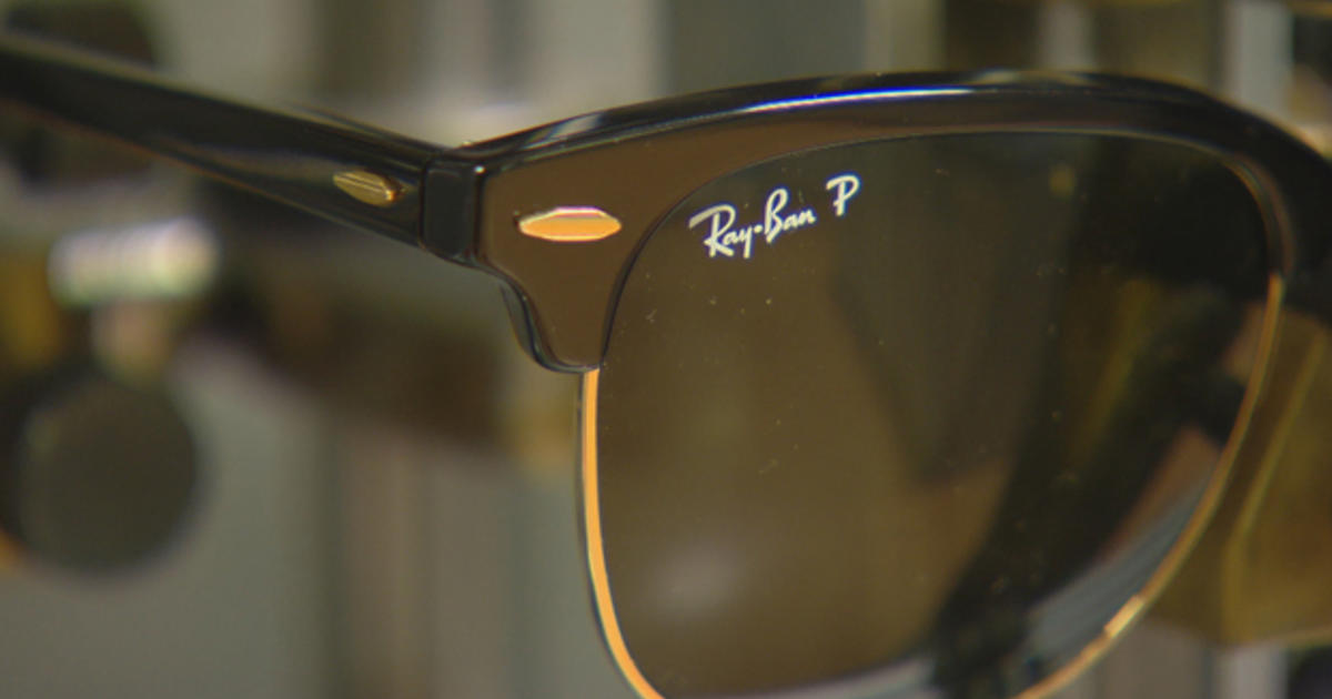 Costco Rayban Sunglasses  sticker shock why are glasses so expensive cbs news