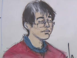 Yongda Huang Harris appeared in court Tuesday.