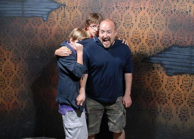 Terrified reactions at haunted house, Pt. 2