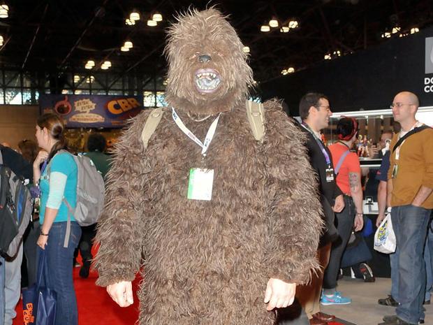 Wacky costumes at NY Comic-Con 2012