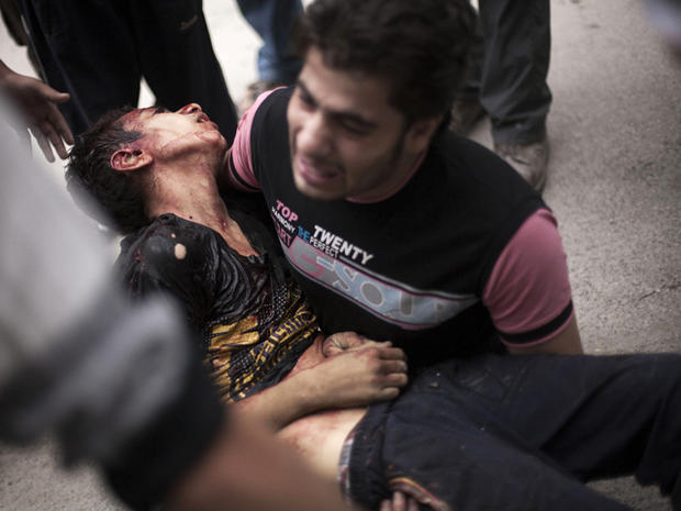 Syria's civil war: Images of horror