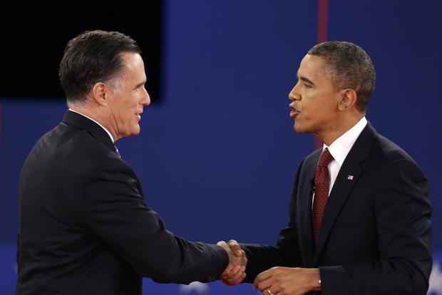 Obama, Romney square off in second debate
