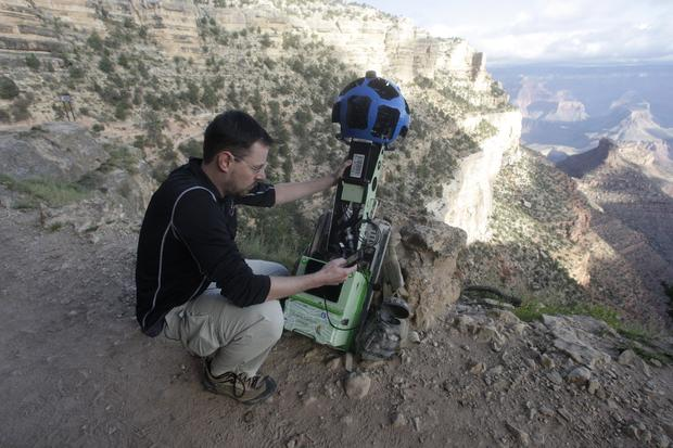 Google's incredible street view of Grand Canyon