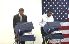 Obama votes early in Chicago