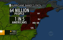 """Super storm"" to hit most densely-populated region of U.S."
