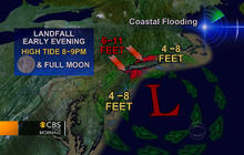 Hurricane Sandy 11 am update: Getting stronger