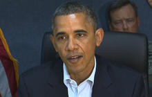 Sandy forces Obama to cancel several campaign events