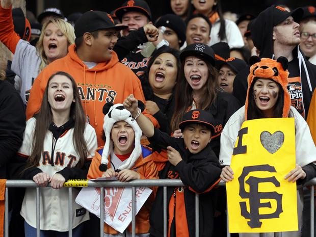 San Francisco Giants World Series victory parade