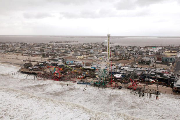 Seaside Heights: Now and then