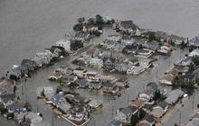 Aerial views of superstorm damage