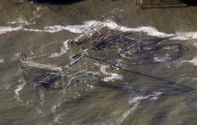 New Jersey shoreline devastated by Superstorm Sandy