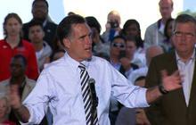 "Romney on Hurricane Sandy: ""We are going through trauma"""