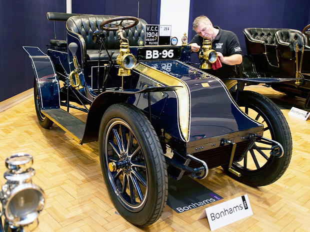 Oldest surviving vauxhall motor car