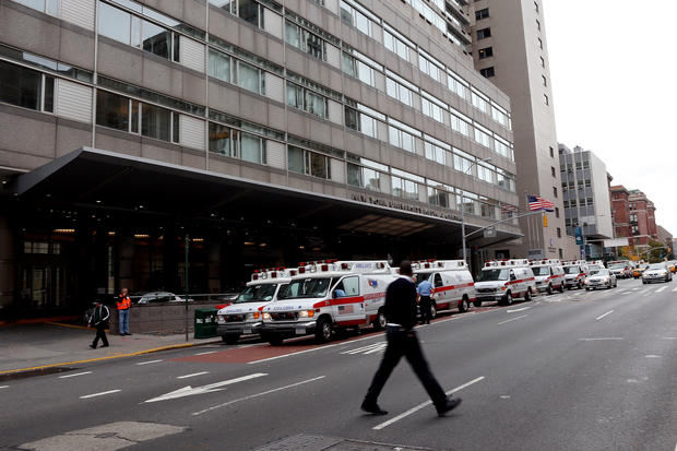 NYC hospitals evacuated for superstorm