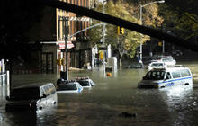 Superstorm Sandy brings climate change back into focus