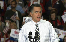 Romney shows confidence as polls show virtual tie